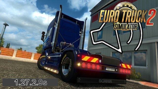Scania R, Streamline V8 Open Exhaust New Sound-part2 [1.27.x]