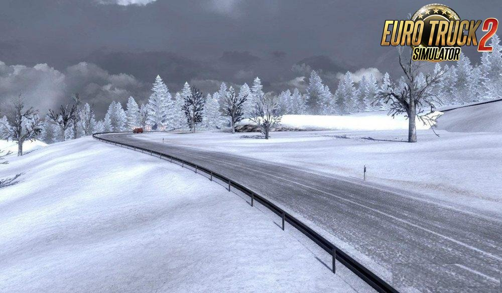New Realistic Winter Mod v 1.0 for Ets2