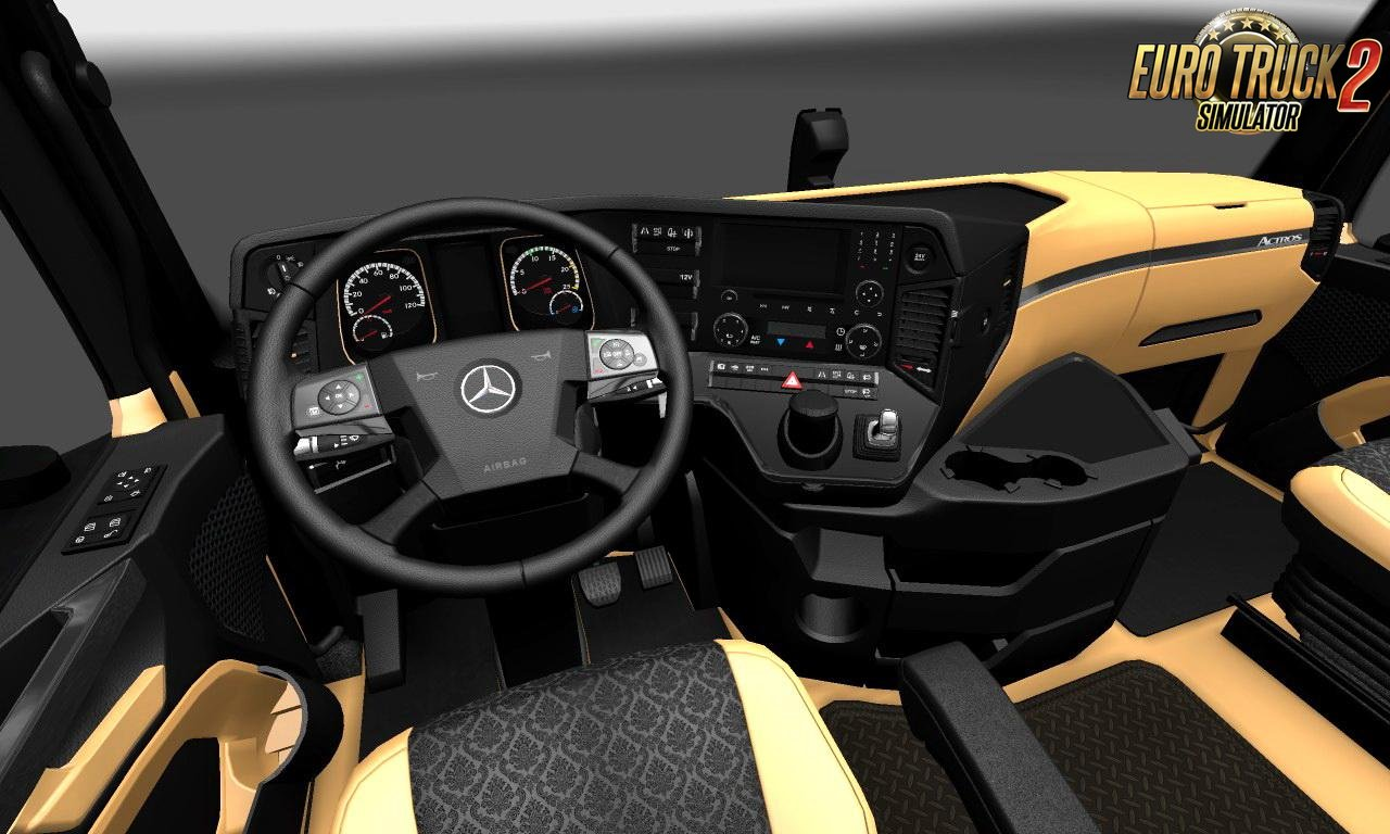The luxury interior for Mercedes-Benz New Actros [1.27.x]
