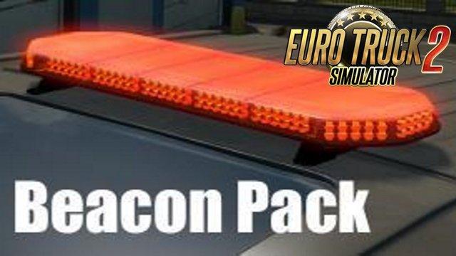 Beacon Pack for all Trucks v 1.7.1 in Ets2