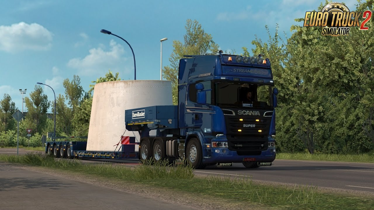 Scania deep V8 sound v10.0 by Kriechbaum