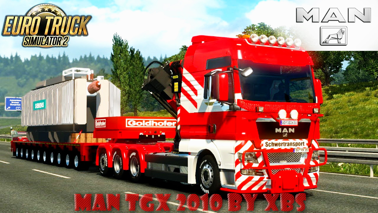 man tgx 2010 v3 7 by xbs ets2 mods scs mods. Black Bedroom Furniture Sets. Home Design Ideas