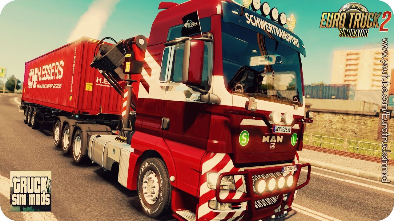 MAN TGX 2010 v 3.7 by XBS (1.27.x) - Euro Truck Simulator 2