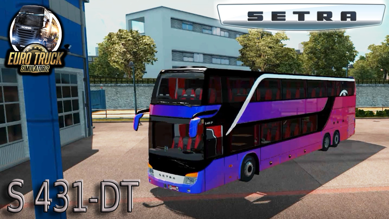 bus setra s431 dt euro truck simulator 2 ets2. Black Bedroom Furniture Sets. Home Design Ideas