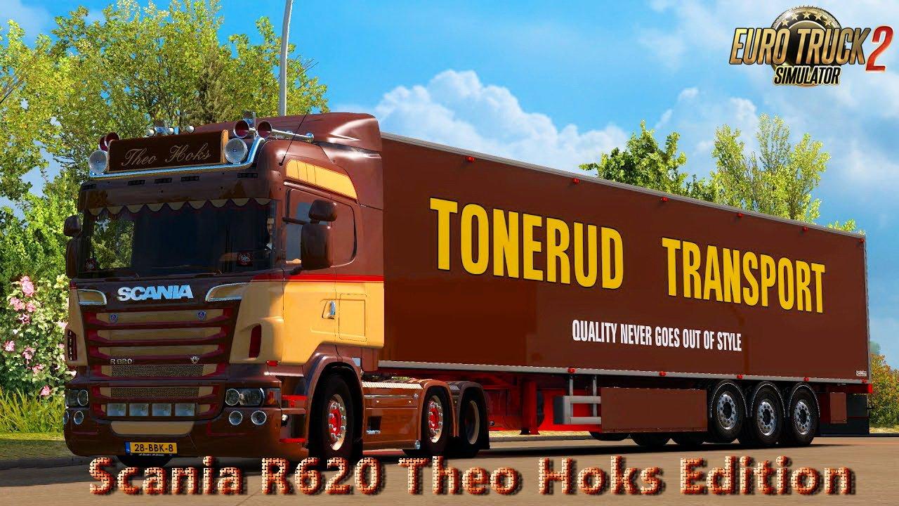 Scania R620 Theo Hoks Edition v4.0 Edit by Nikola (1.27.x)