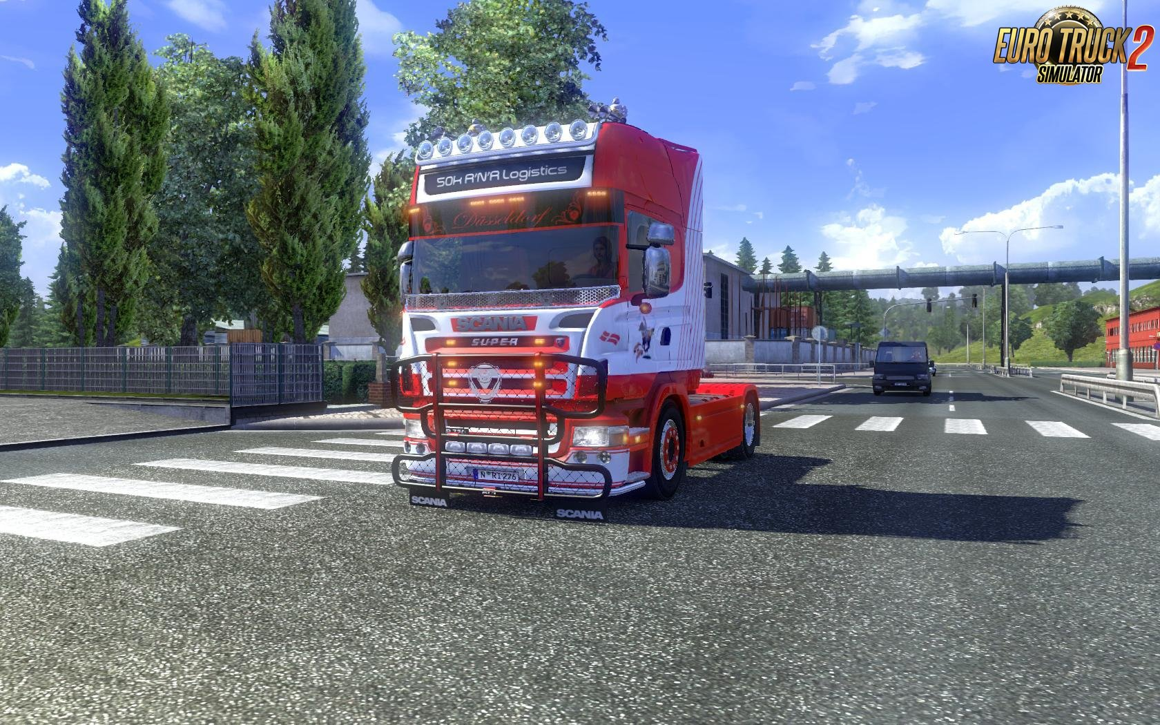 Scania R2008 50k v 5.0 Nikola Edit [1.27.x]