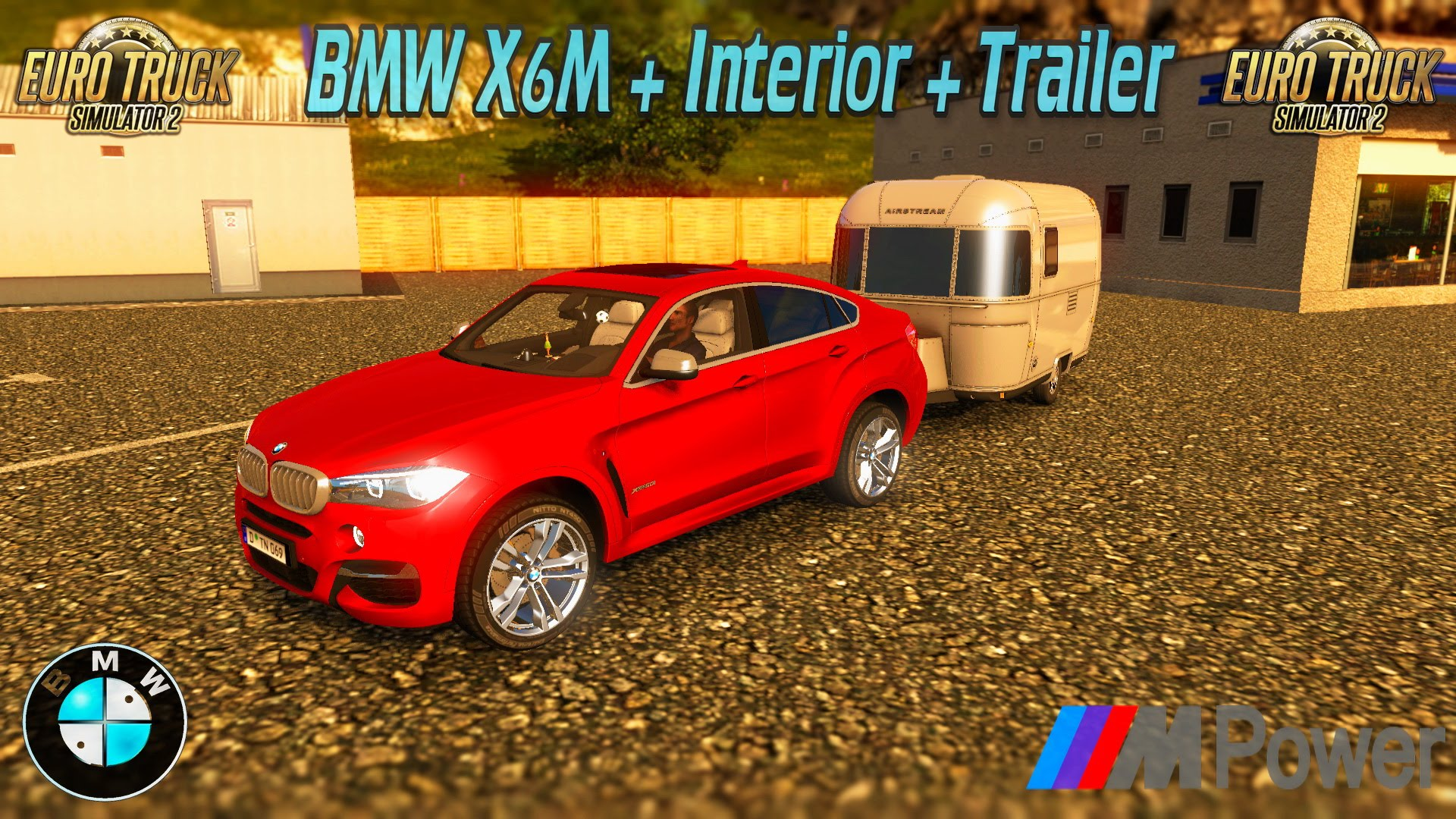 BMW X6M + Interior v1.0 Reworked by Mark25 (1.28.x)