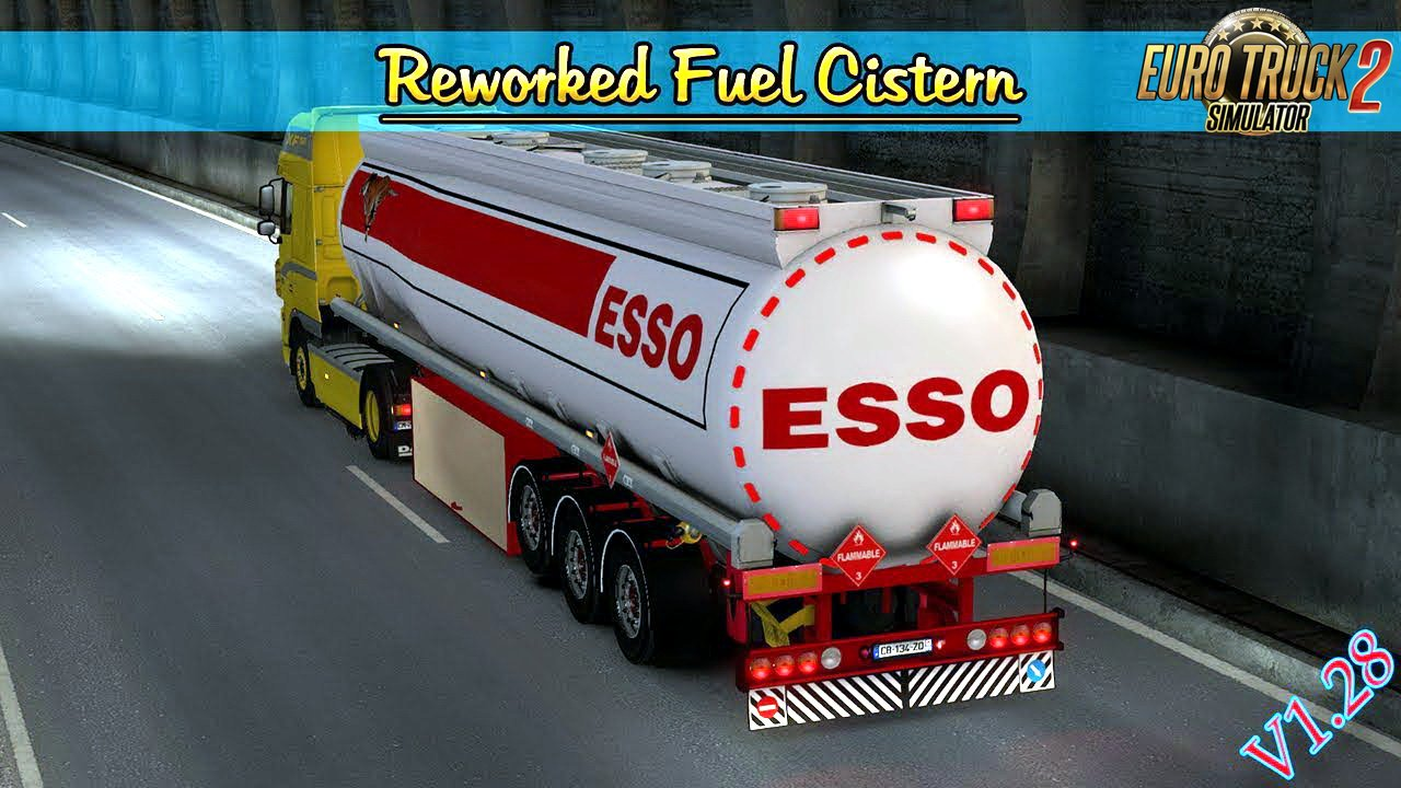 Reworked Fuel Cistern SCS v1.0 by MDModding (1.28.x)