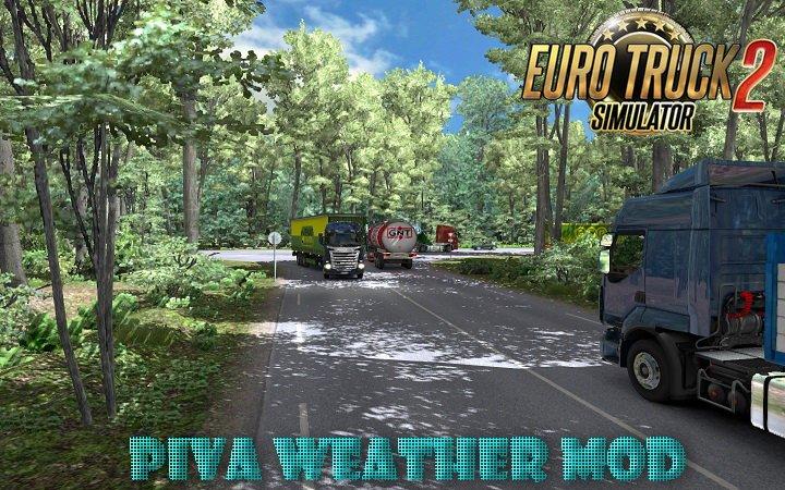Piva Weather Mod v5.4 (1.39.x) for ETS2