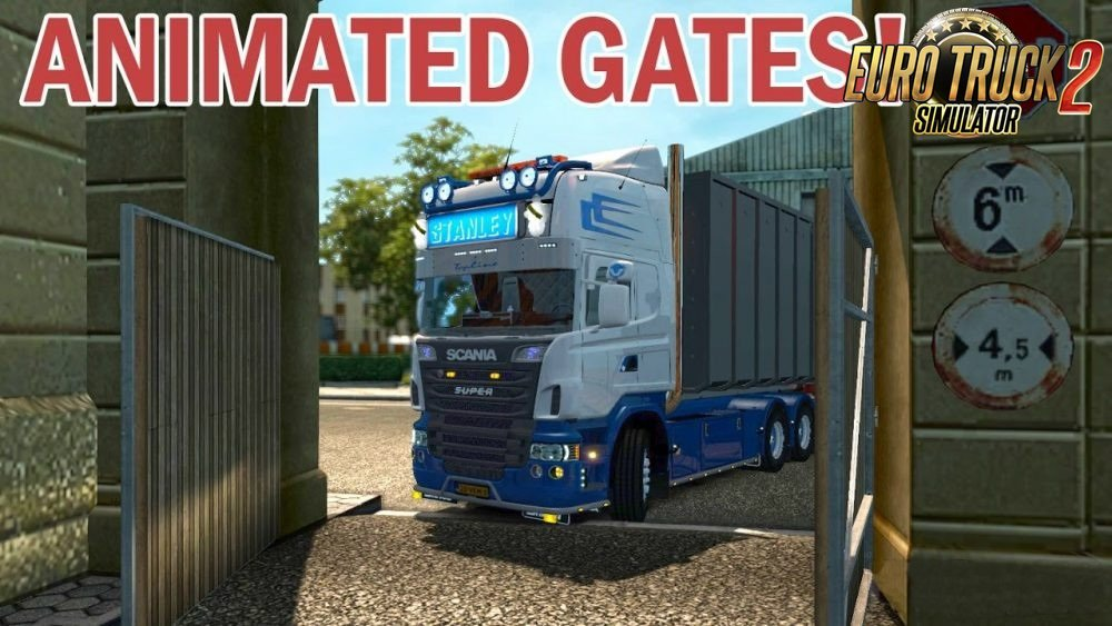 Prefab with animated gate v1.9 by Todor Alin