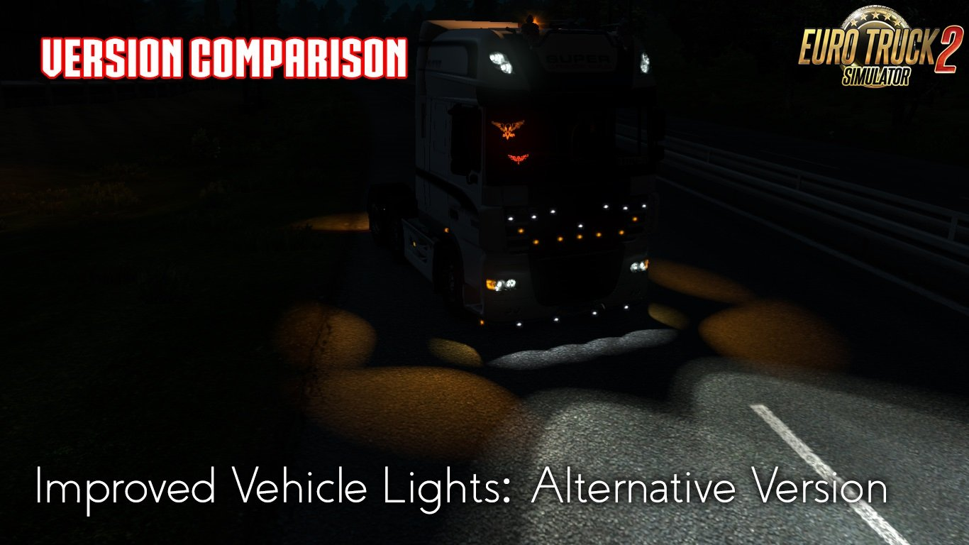 Improved Vehicle Lights (Alternativ) v1.2
