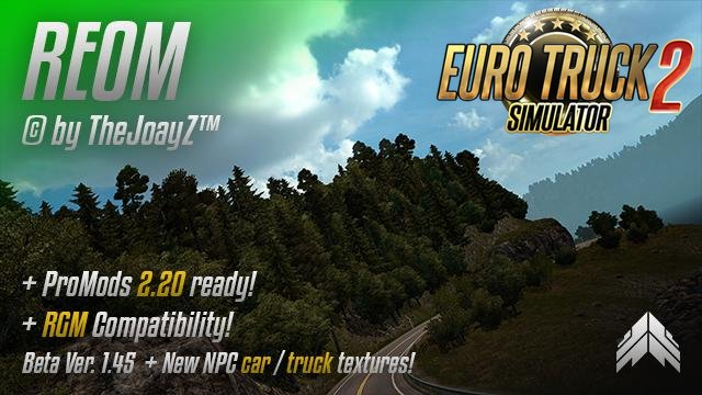 Realistic Environment Overhaul Mod v1.45 [1.28.x]
