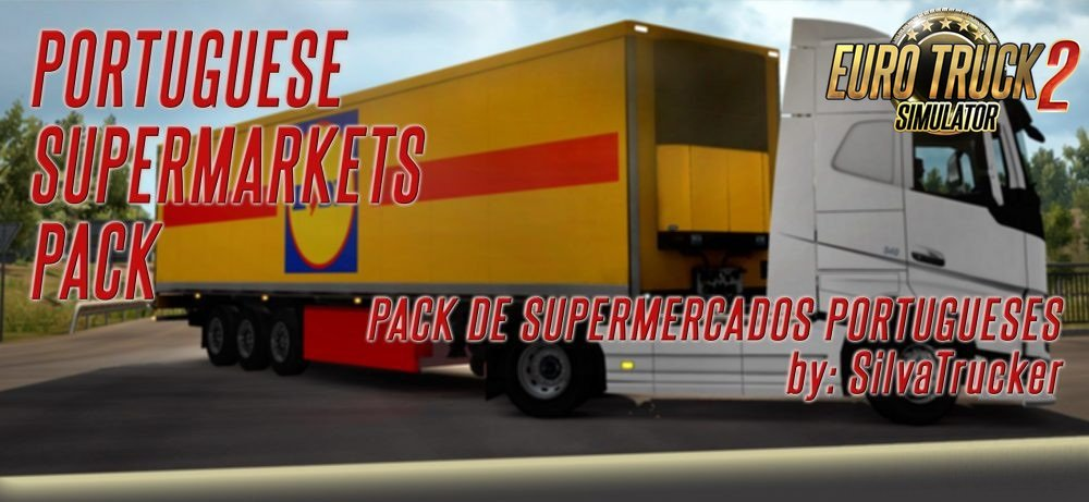 Portuguese Supermarkets Pack for Ets2