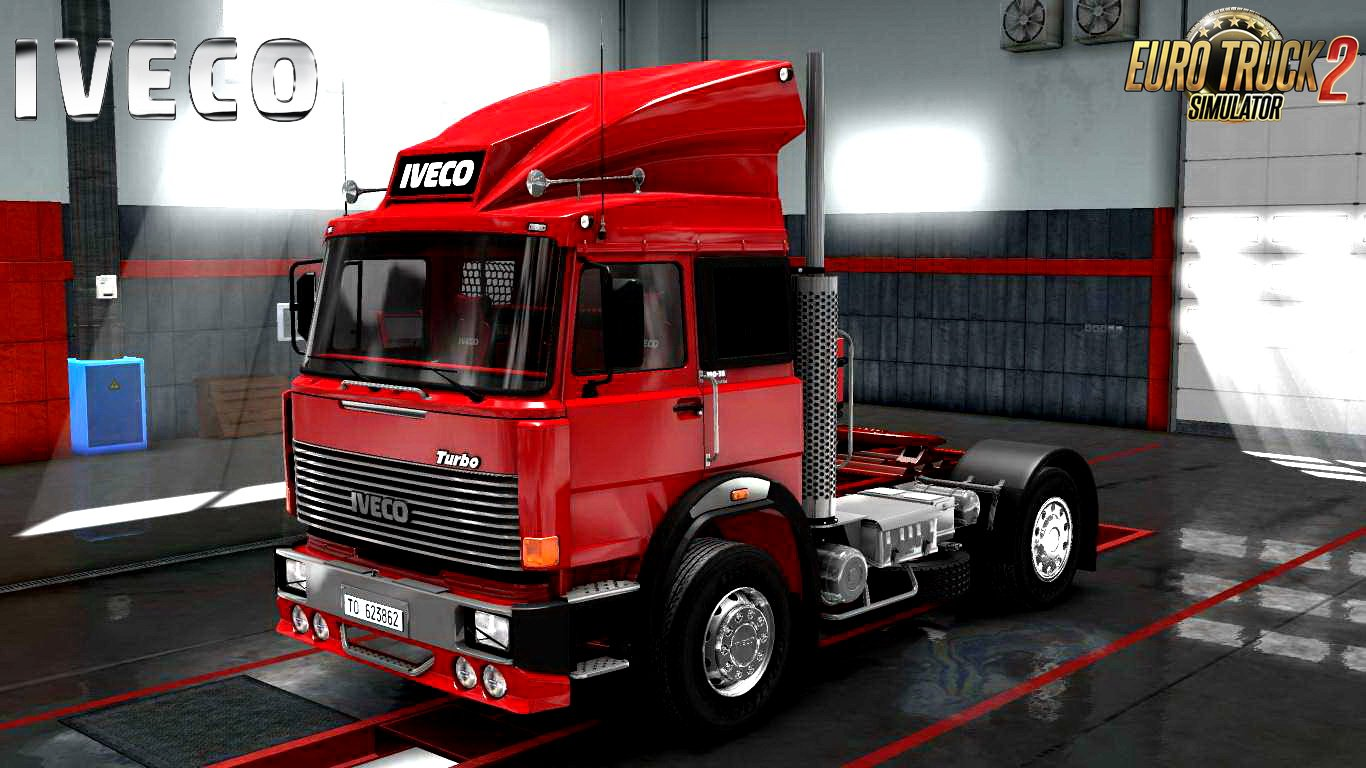 IVECO 190-38 Turbo Special V8 sound for Ets2