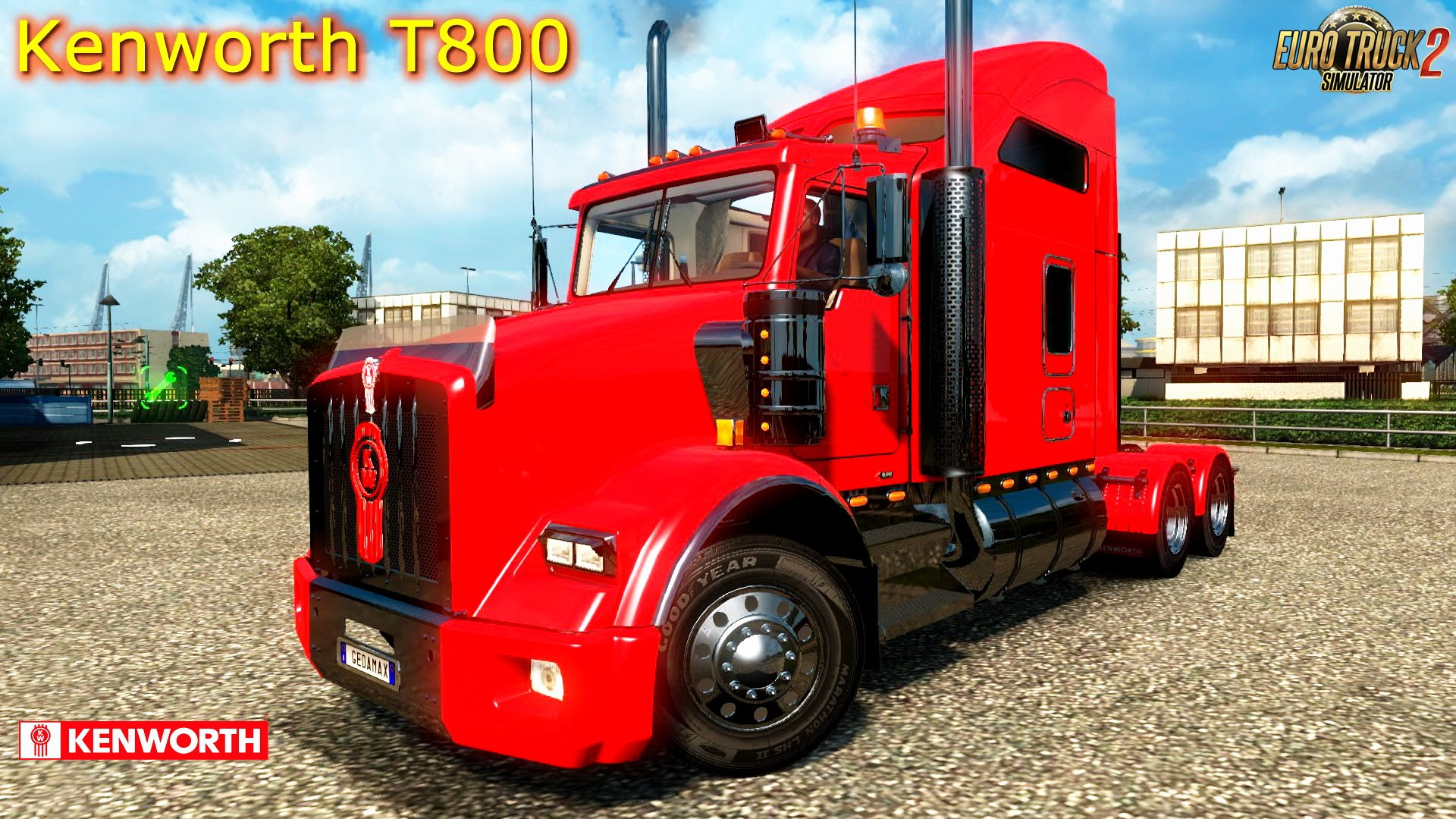 Kenworth T800 + Interior + DLC v2.4 (1.28.x)