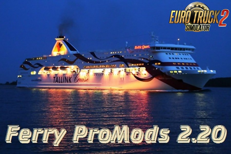Kirkenes Ferry for Promods 2.20 [1.28.x]