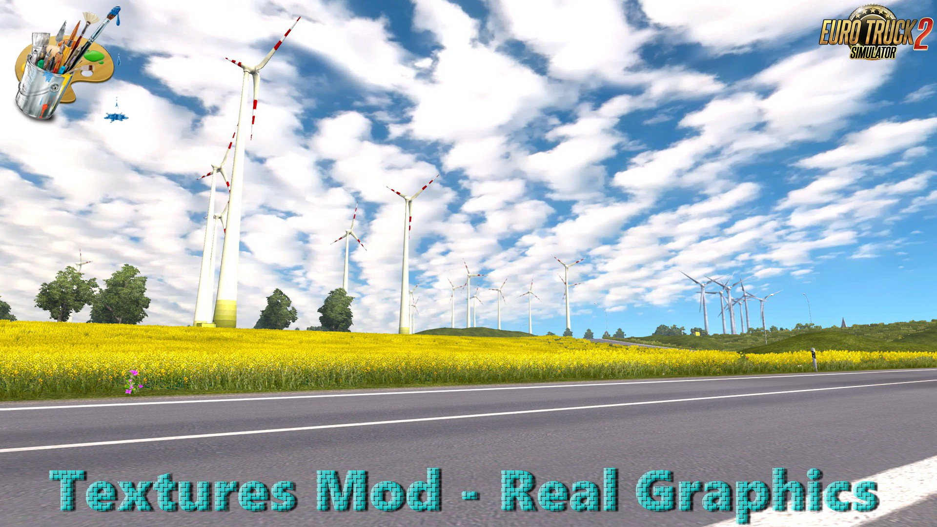 Textures Mod - Real Graphics v2.2 (Final Edition) (1.28.x)