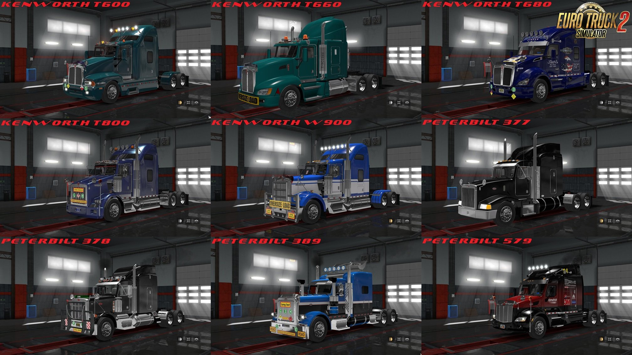 American Truck Pack - ProMods Deluxe v5 [1.28.x]