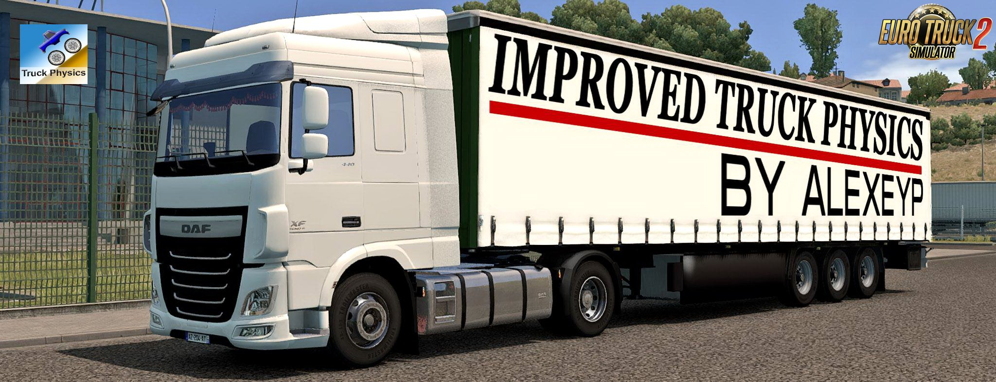 Improved truck physics v2.7 by AlexeyP (1.32.x)