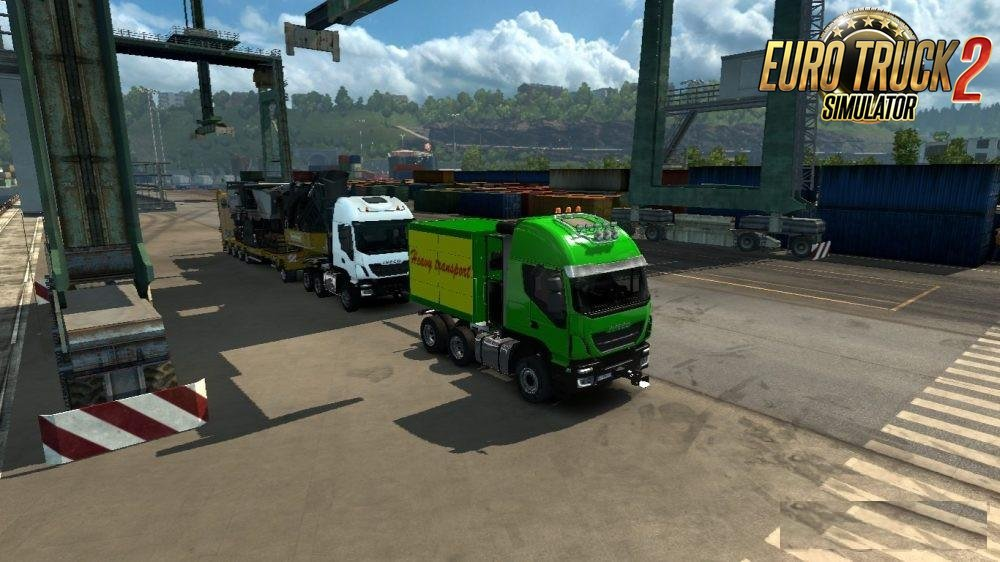 Heavy Haul Convoy Trailer Mod for Ets2