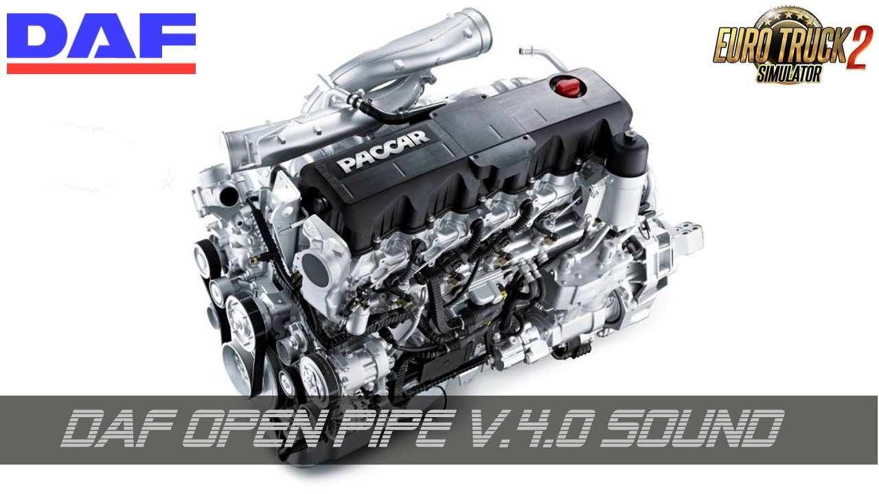 Daf Open Pipe Sound v4.0 (1.28.x)
