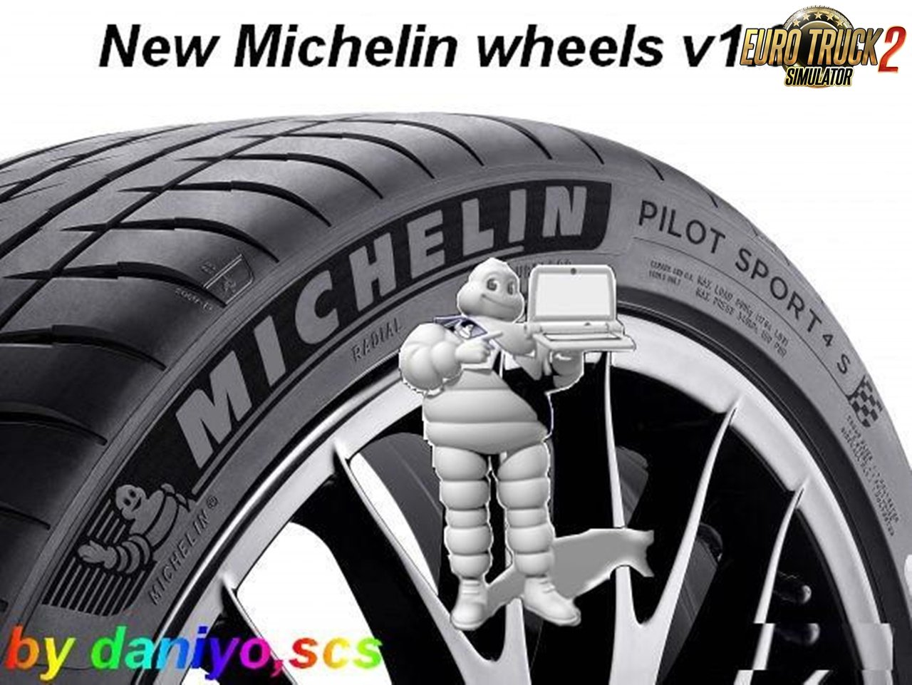 New Michelin Wheels for Ets2 [1.30]