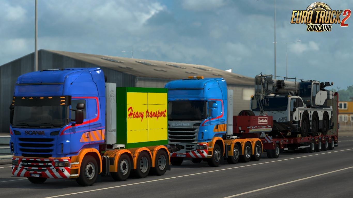 Download mod fuso ets2 v1  30 | Euro Truck Simulator 2 V1 30