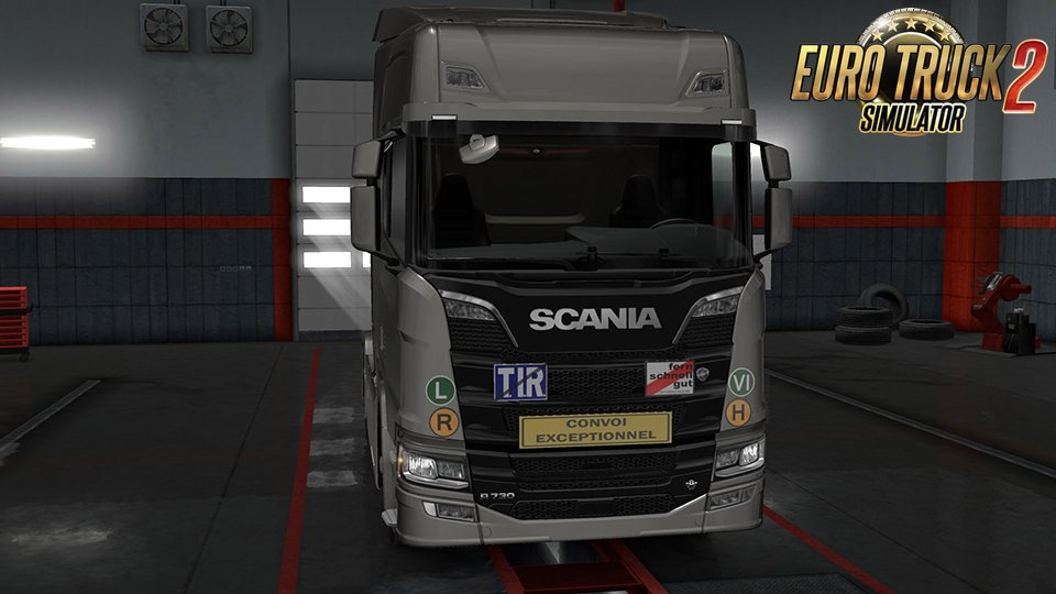 Signs on your Truck v1.0.97.01 by Tobrago [1.32.x]