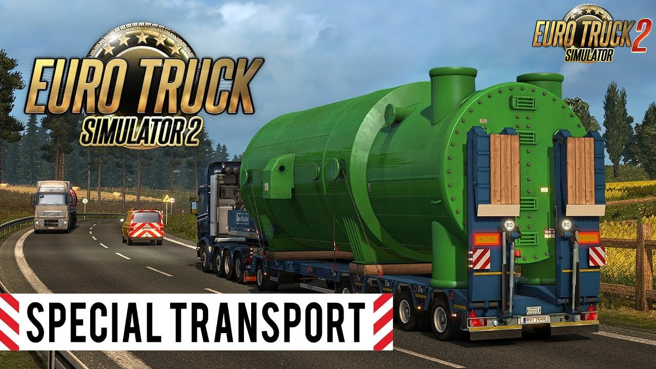 Special Transport DLC Promo Trailer