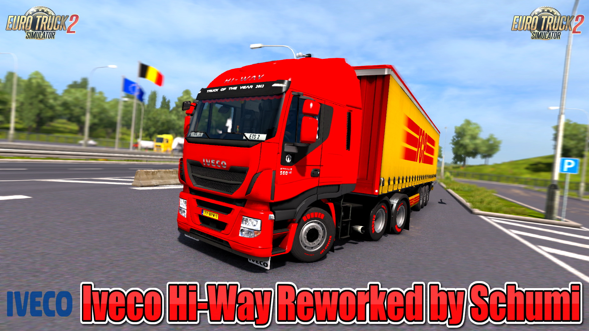Iveco Hi-Way Reworked v1.9 by Schumi (1.32.x)