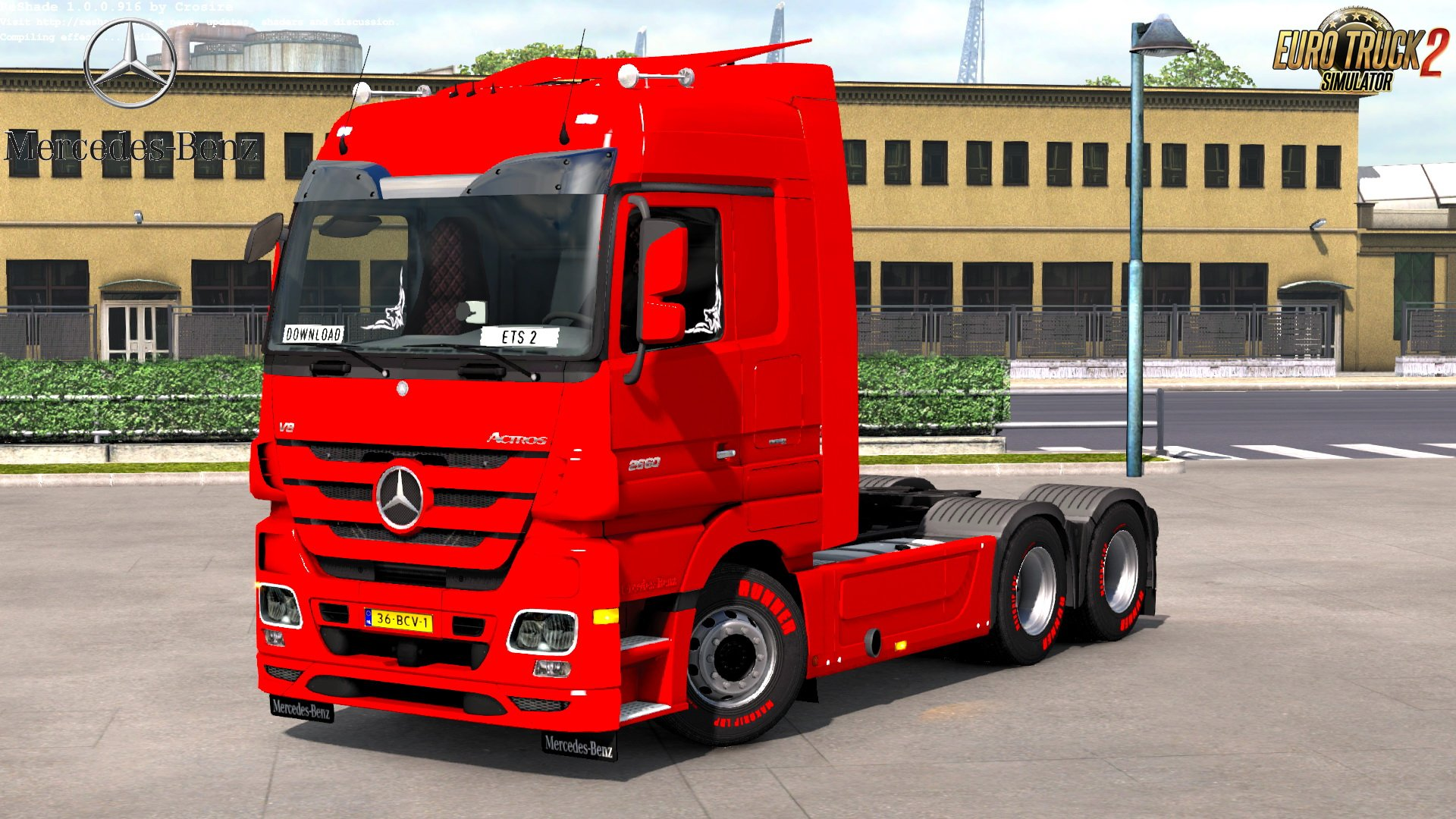 Mercedes Actros MP3 Reworked v2.5 by Schumi (1.32)