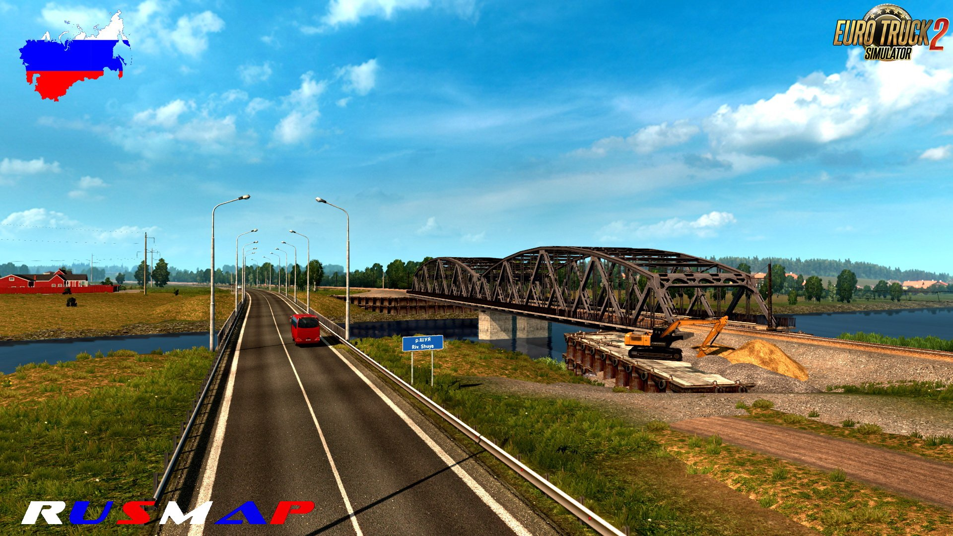 RusMap v2.1.1 (1.37.x) for ETS 2