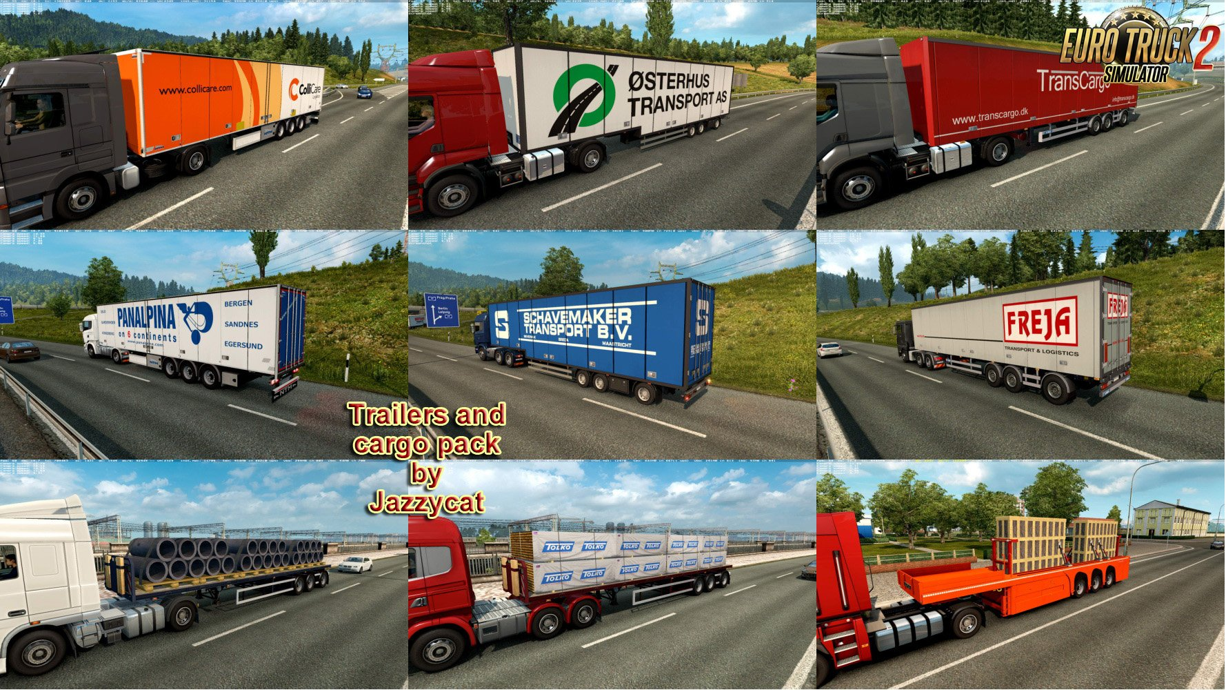 Trailers and Cargo Pack v6.2 by Jazzycat