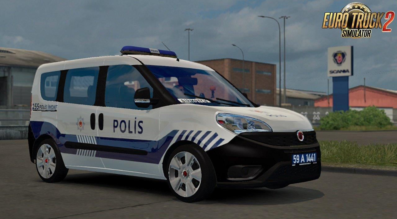 Fiat Doblo 2018 D4 v1.4 (1.38.x) for ETS2