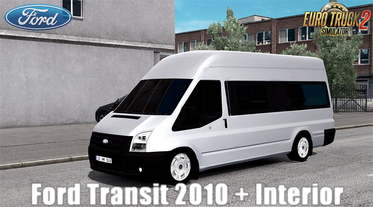 Ford Transit 2010 + Interior v1.0 (1.30.x)
