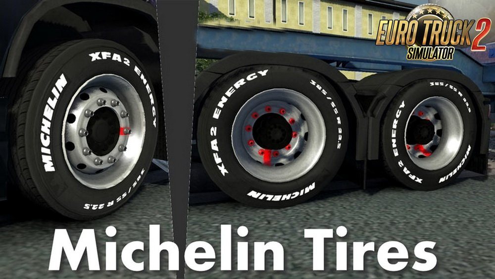 Michelin Tires for all Trucks v1.0 (1.30.x)