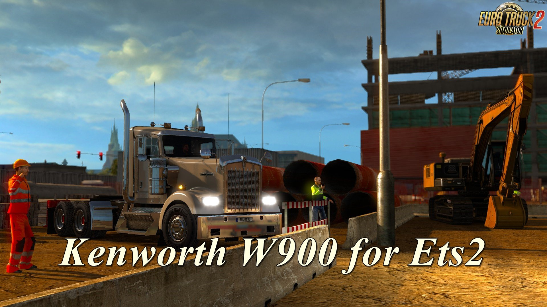 Kenworth W900 for Ets2