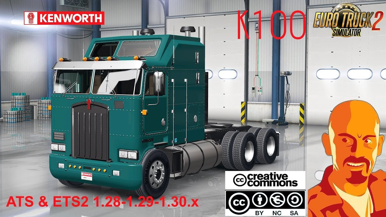 Kenworth K100 for Ets2
