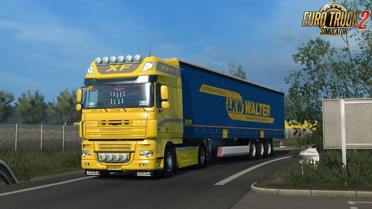 Daf Xf E5-E6 Open Pipe Sound v11.0 (1.38.x)