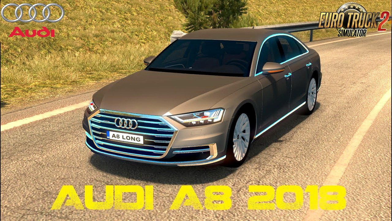 Audi A8 Long 2018 + Interior v1.0 (Reworked) (1.30.x)