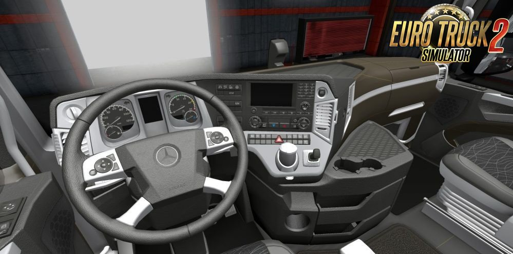Mercedes Actros MP4 Lux Interior by Gile004