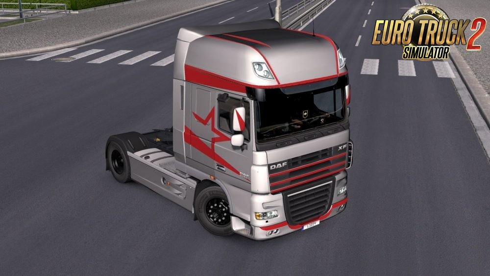 DAF XF 105 Metallic Paintjob Pack