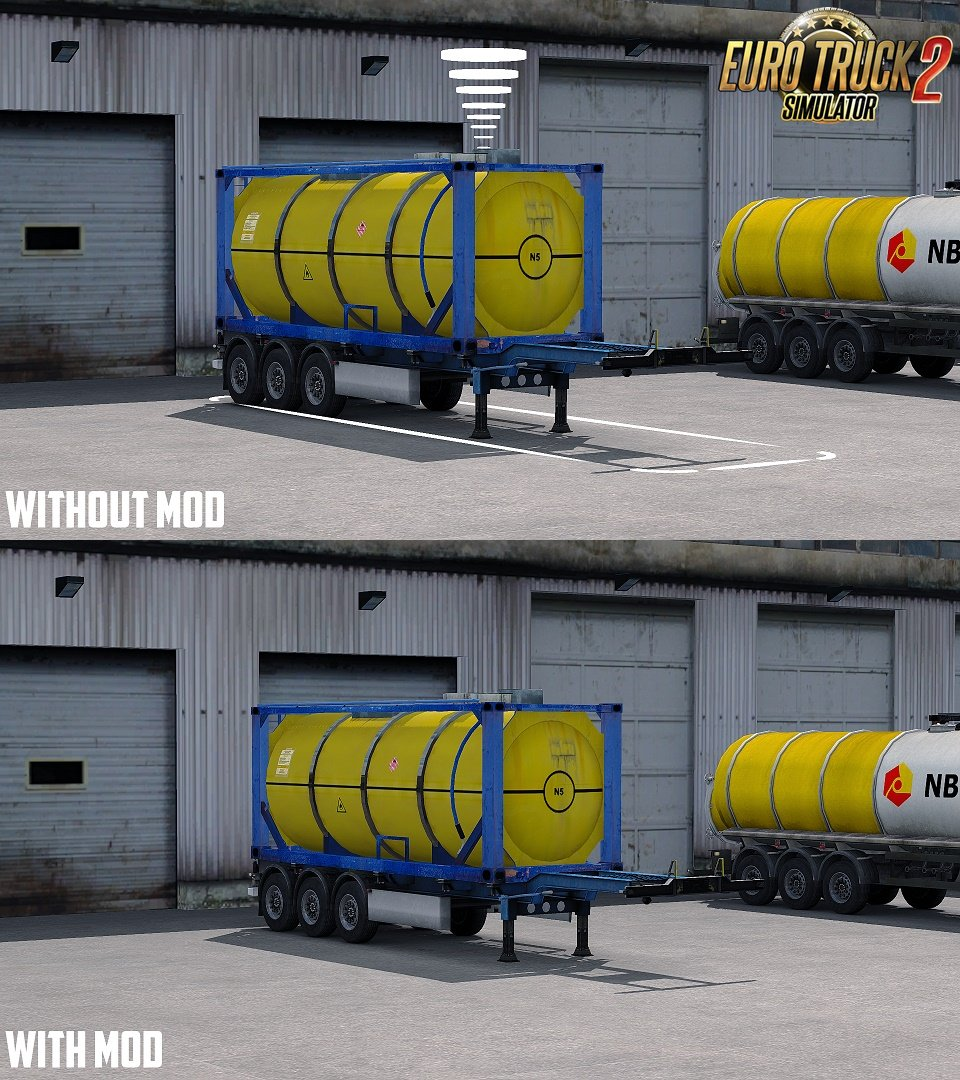 No Trailer Symbol Mod v1.0 by SimTruck Design