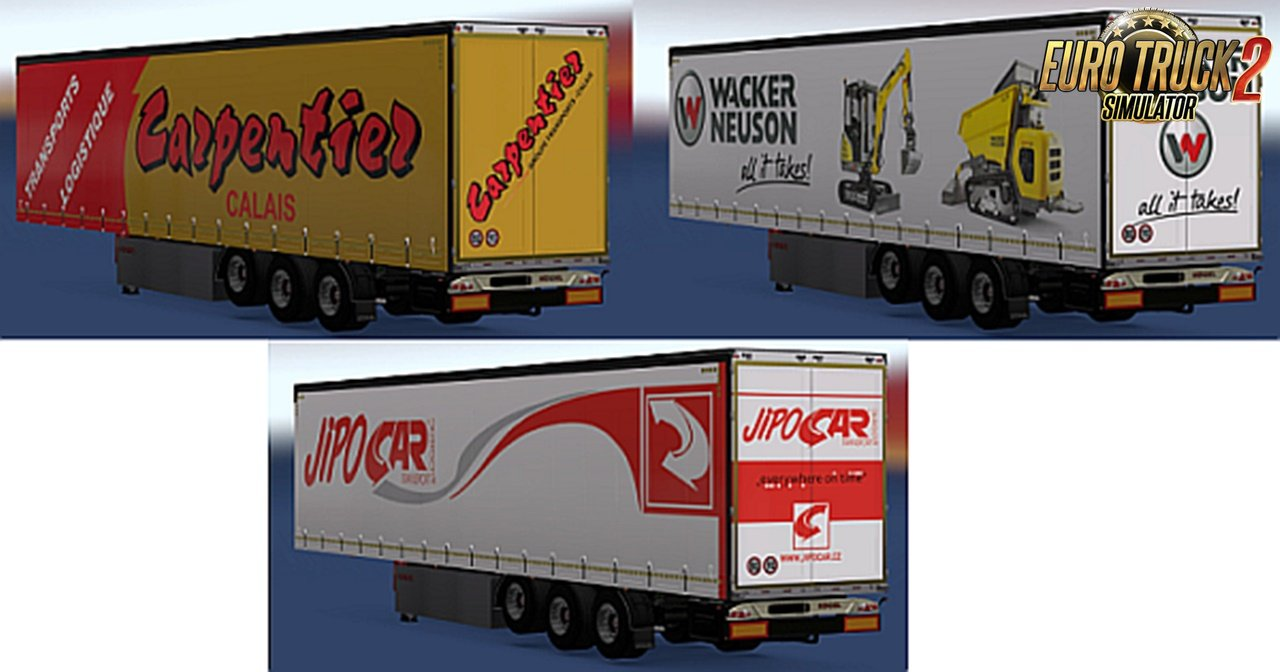 50 Rudis Skin Mix for Kögel Maxx trailers