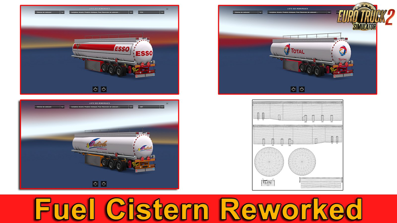 Reworked Fuel Cistern SCS