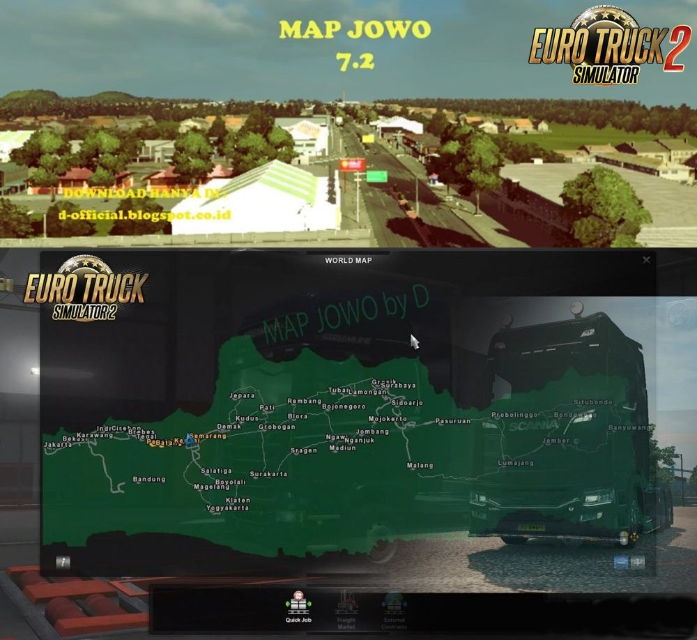 Map Jowo (Indonesian Map) v7.2 (1.38.x)