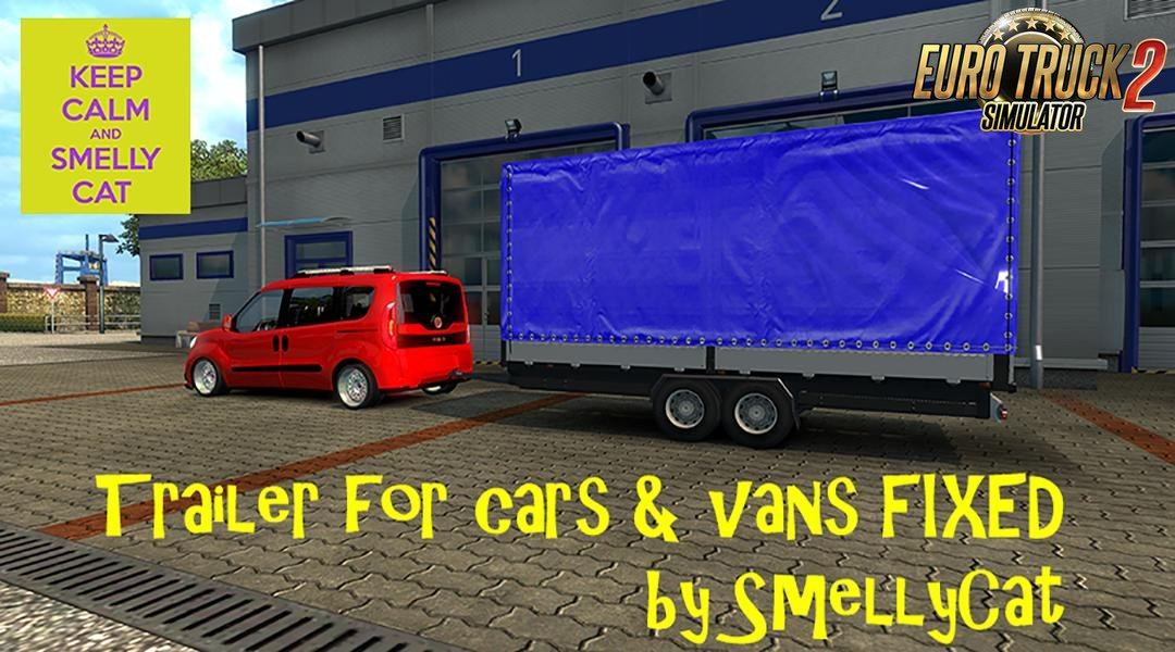 Trailer for Cars & Vans (Fixed Version) v1.0 (1.30.x)