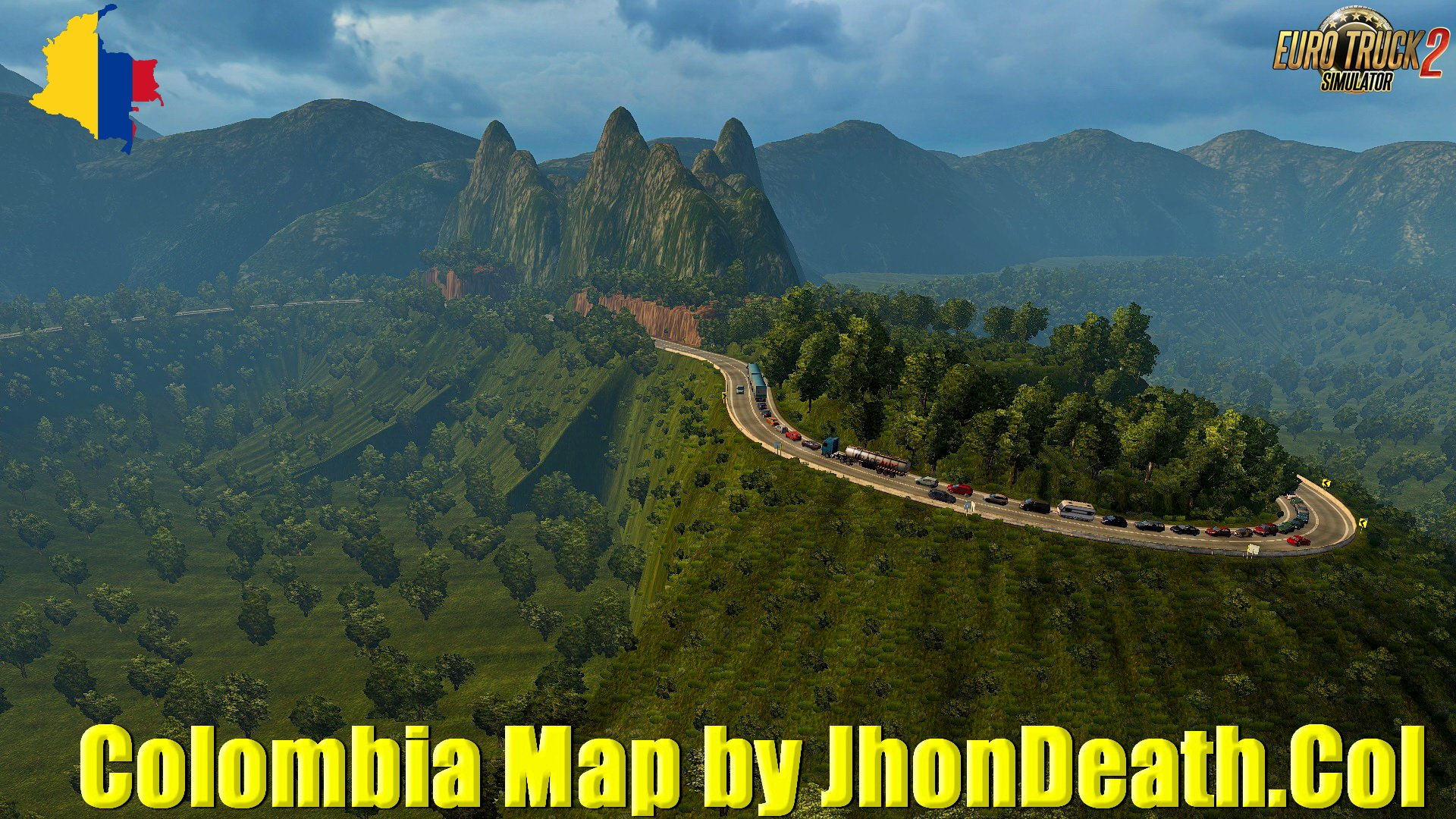 Colombia Map v4.0 by JhonDeath.Col (1.34.x)
