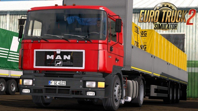 MAN-F90 Reworked v4.01 for Ets2