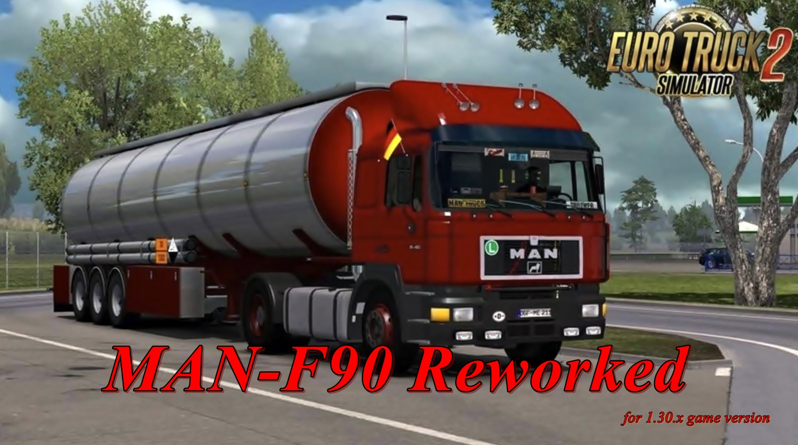 MAN-F90 Reworked v4.01.1 for Ets2